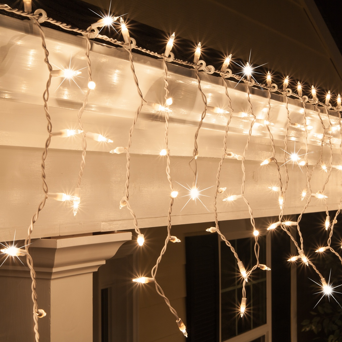 how to decorate with icicle lights.htm clear mini twinkle icicle lights on white wire wintergreen  twinkle icicle lights on white wire