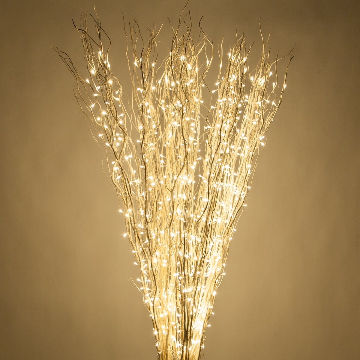 White Lighted Full Willow Branches Warm White Led Wintergreen Corporation