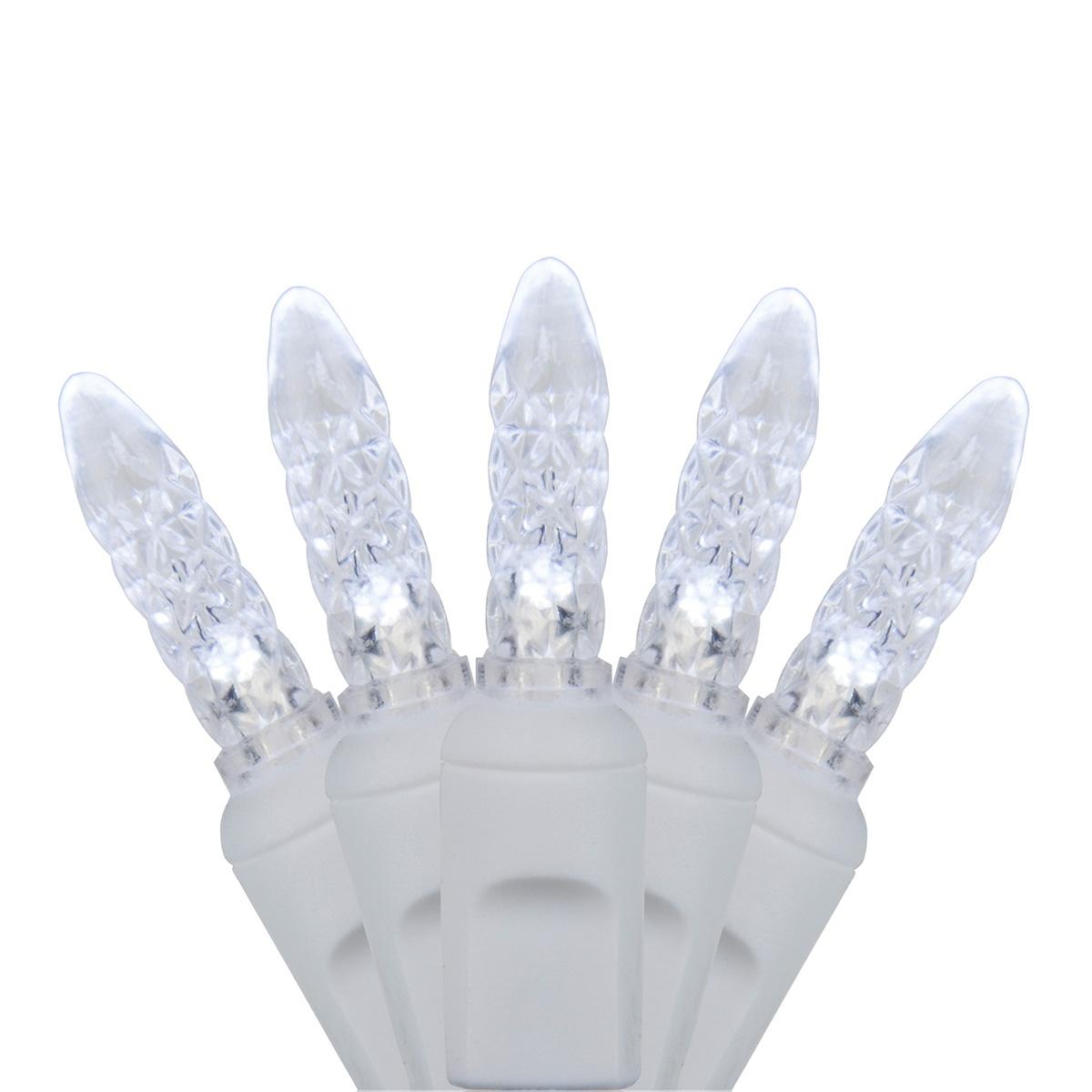 White Wire Mini Lights - Wintergreen Corporation